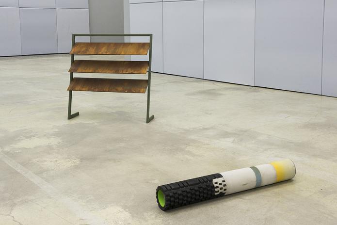 sculpture, concrete, iron, Fondazione Merz